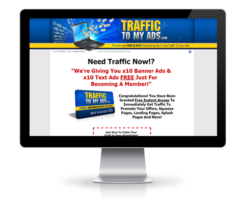 TrafficToMyAds.com Upgrade
