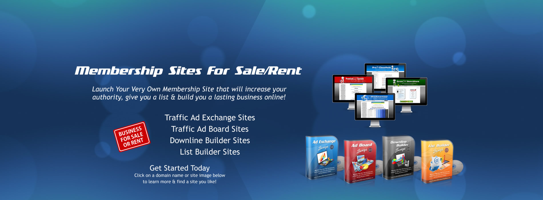 Membership Sites For Sale