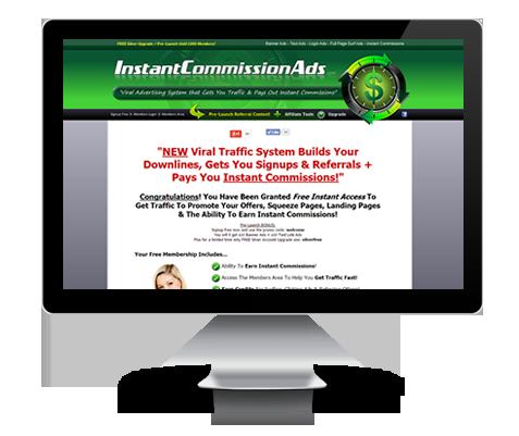 InstantCommissionAds.com Upgrade