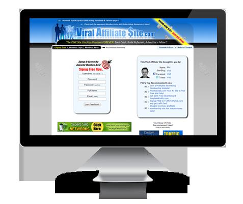 MyViralAffiliateSite.com Upgrade
