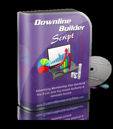 Downline Builder Script