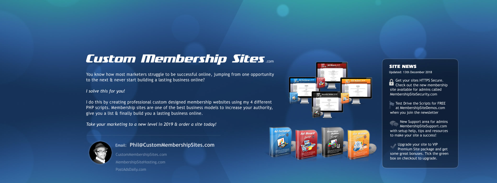 Custom Membership Sites