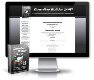 Downline Builder Script Admin Area