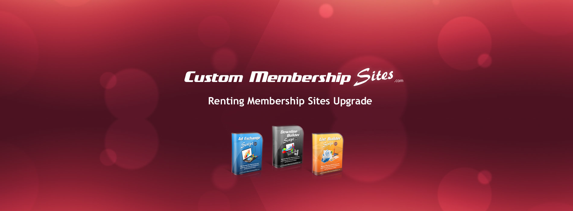Renting Membership Sites Upgrade